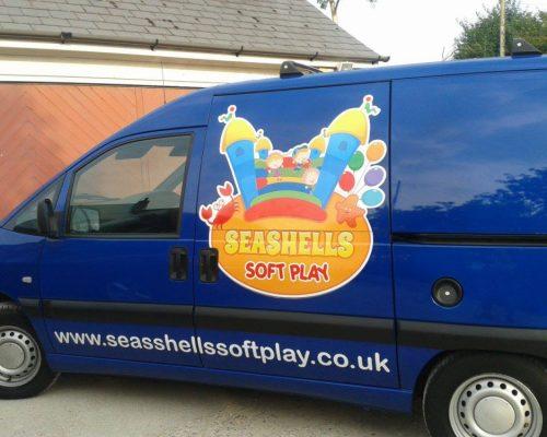 The Seashells Soft Play Van
