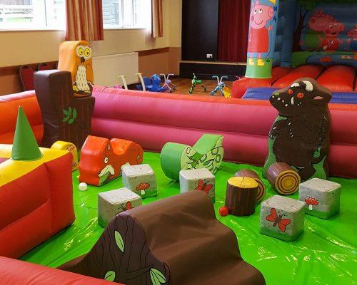 Soft Play Surround, Muddy Puddles Pig Castle At Preston Village Hall