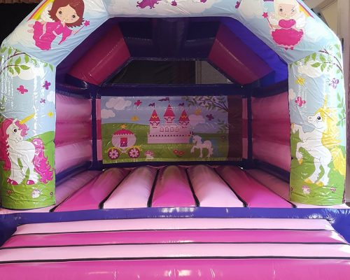 Unicorn And Princess Bouncy Castle